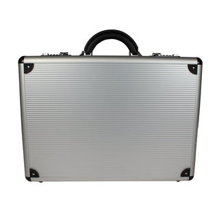 World Traveler Copa Aluminum Silver 5-inch Attache Case