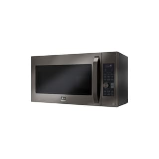 LG STUDIO LSMC3089BD  - 1.7 cu. ft. Black Stainless Steel Over-the- Range Convection Microwave Oven