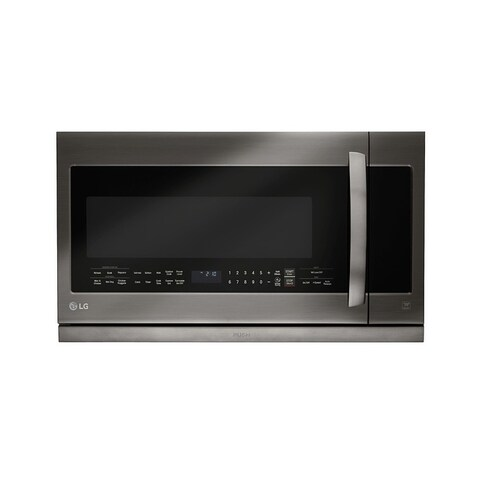 LG LMHM2237BD - Black Stainless Steel Series 2.2 cu.ft. Over-the-Range Microwave Oven