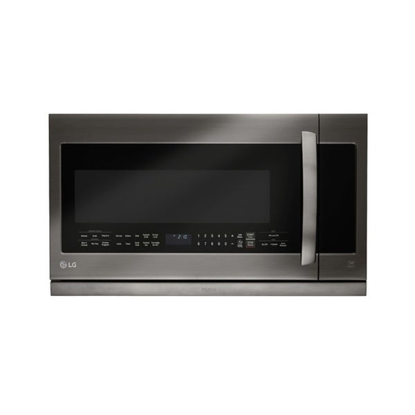 LG LMHM2237BD - Black Stainless Steel Series 2 2 cu ft  Over-the-Range  Microwave Oven