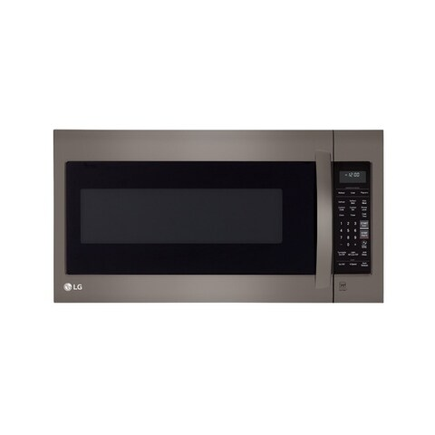 LG LMV2031BD - Black Stainless Steel Series 2.0 cu.ft. Over-the-Range Microwave Oven with EasyClean®