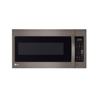 LG LMV2031BD - Black Stainless Steel Series 2.0 cu.ft. Over-the-Range Microwave Oven with EasyClean (Refurbished)