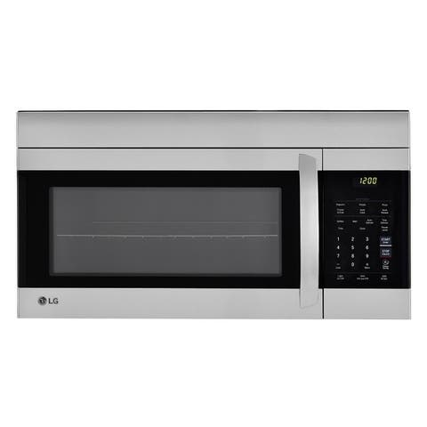 LG LMV1762ST - 1.7 cu.ft. Stainless Steel Over-the-Range Microwave Oven