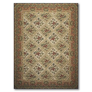 """Victorian Waverly Luxury Collection Hand Hooked Needlepoint Area Rug (8'4""""x11')"""