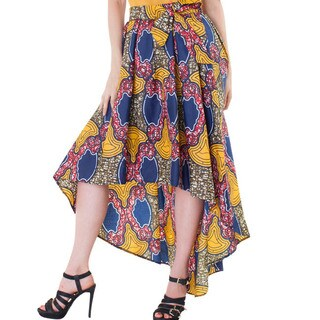 For Her NYC African Print Skirt