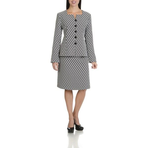 Danillo Women's Two Piece Skirt Suit