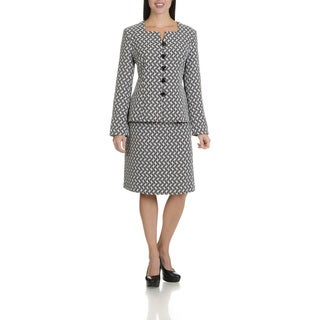 Danillo Women's Two Piece Skirt Suit