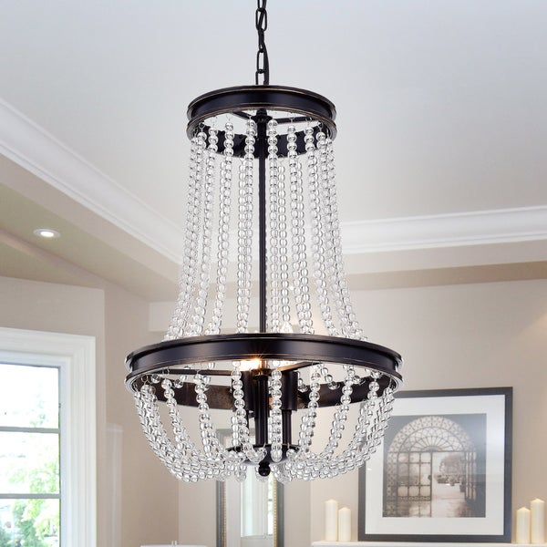 Elisedd 3-Light 15-Inch Vase Chandelier