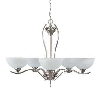 Yosemite Home Décor Glacier Point Collection Five Lights Chandelier