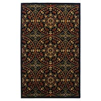 Superior Designer Fancy-Medallion Area Rug - 5' x 8'