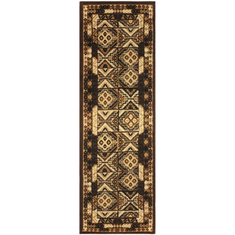 Miranda Haus Mosaic Geometric Southwestern Area Rug Collection