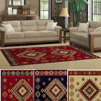 Superior Designer Santafe Area Rug (5' x 8') - 5' x 8'