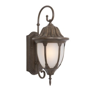 "Yosemite Home Decor Merili Collection 9.5"" Flourescent Exterior Sconce"