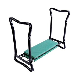Outsunny Folding Garden Kneeler Bench Chair
