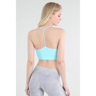 Nikibiki Women's Seamless Skinny Y-Back Bralette Top
