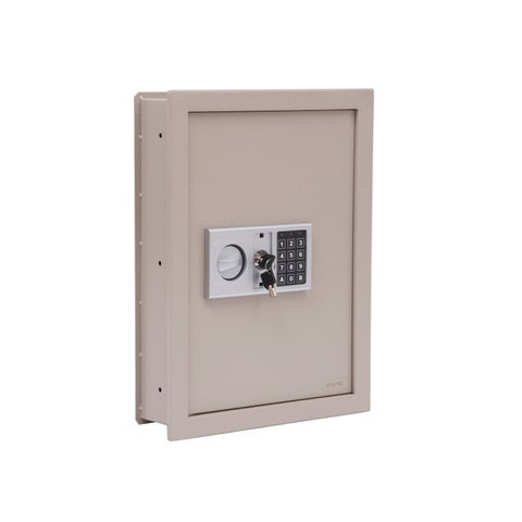 HomCom Digital Wall Mounted Home Security Storage Safe