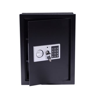 HomCom Digital Wall Mounted Home Security Storage Safe