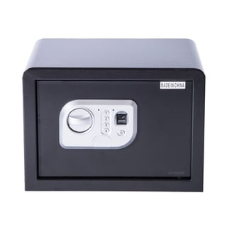 HomCom Fingerprint Digital Electronic Gun Safe Box with Keypad Lock Security