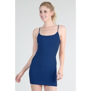 Nikibiki Women's Seamless Camisole Dress Slip