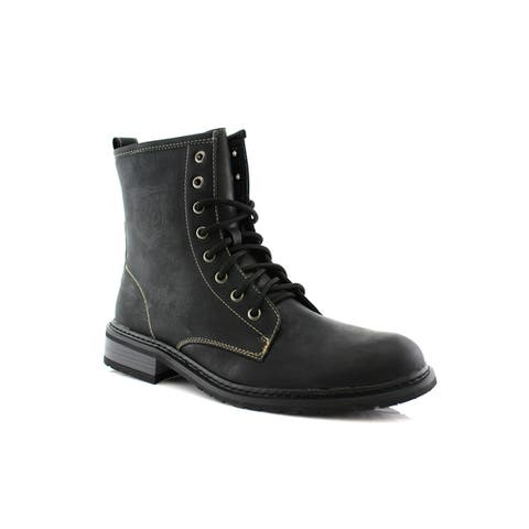 Polar Fox Sawyer MPX808563 Mens Combat Boots For Work or Casual Wear