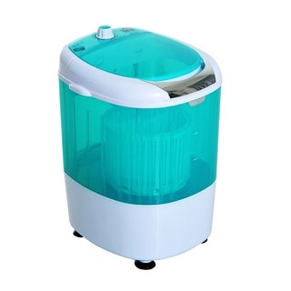 HomCom Portable Electric Washing Machine Top Load Spin Wash and Dry