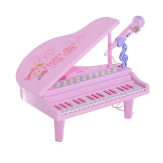 Qaba Kids Baby Grand Digital Piano with Microphone|https://ak1.ostkcdn.com/images/products/18038561/P24204879.jpg?impolicy=medium