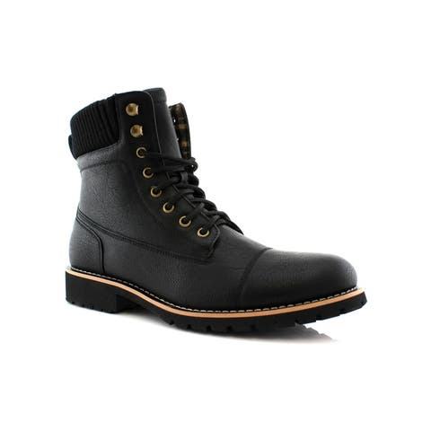 Polar Fox Wilson MPX508569 Men's Combat Boots For Work or Casual Wear