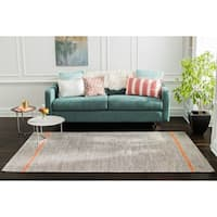 Jani Ana Brown Natural Fiber Flatweave Rug - 8' x 10'