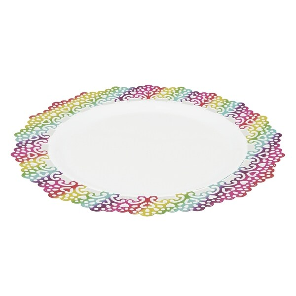 Elegant Plastic 6\\\  Inch Appetizer Dessert Salad Round Plate Colored Oval Paper Plates Colored Oval Dinner Plates  sc 1 st  Way2ads & Colored Oval Dinner Plates - Worksheet \u0026 Coloring Pages