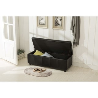 Porthos Home Upholstered Quentin Storage Bench