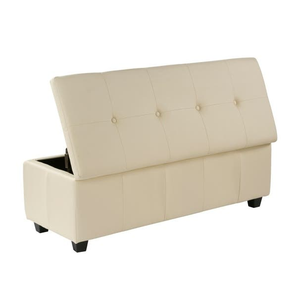 Prime Shop Porthos Home Upholstered Quentin Storage Bench Free Pabps2019 Chair Design Images Pabps2019Com