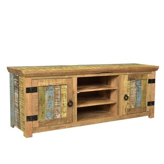 Timbergirl Suman Solid Mango wood TV Console (Option: Multi)
