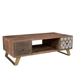 Timbergirl Olga Retro Coffee Table with drawers