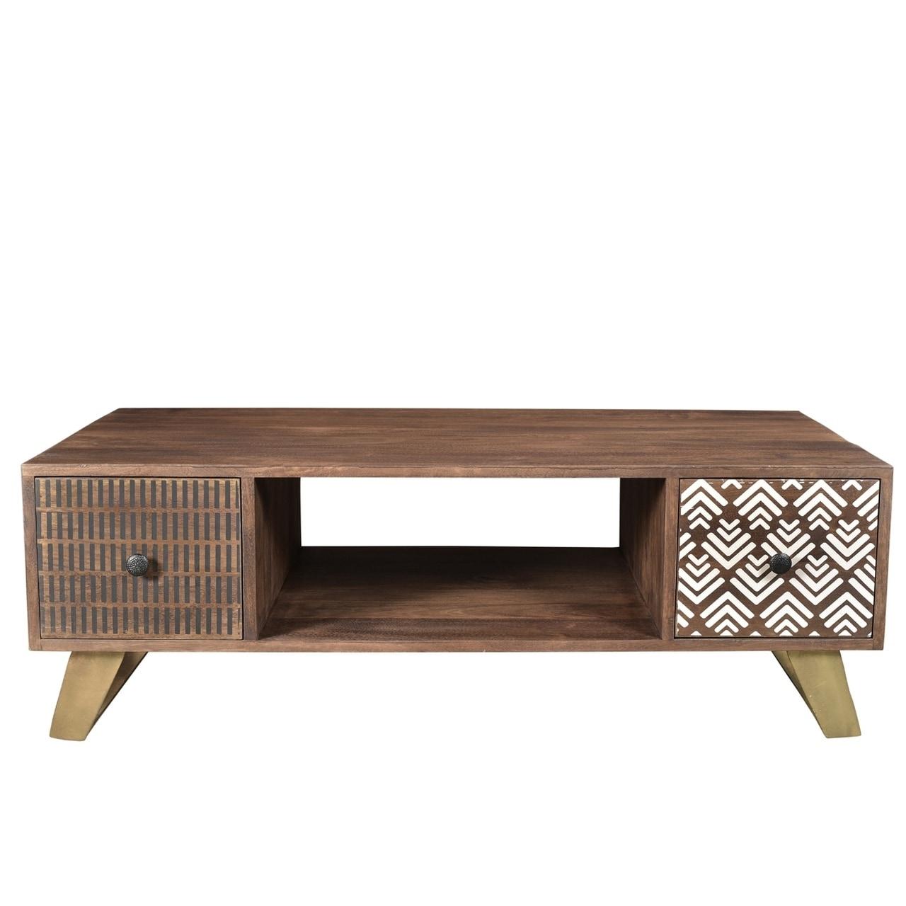 Handmade Olga Retro Coffee Table 46 X 24 16 India