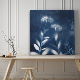 Nature's Indigo II - Premium Gallery Wrapped Canvas - 4 Sizes Available