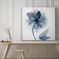 Indigo Bloom I - Premium Gallery Wrapped Canvas - 4 Sizes Available