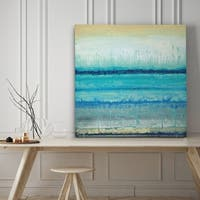 Blue River - Premium Gallery Wrapped Canvas - 4 Sizes Available