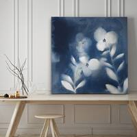 Nature's Indigo I - Premium Gallery Wrapped Canvas - 4 Sizes Available