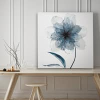 Indigo Bloom II - Premium Gallery Wrapped Canvas - 4 Sizes Available