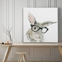 Cute Critter Rabbit - Premium Gallery Wrapped Canvas - 4 Sizes Available