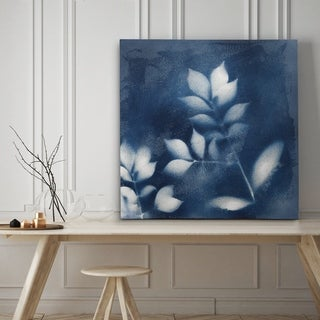 Nature's Indigo III - Premium Gallery Wrapped Canvas - 4 Sizes Available