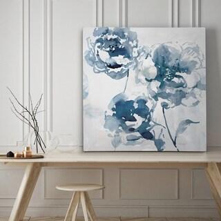 Indigo Garden I - Premium Gallery Wrapped Canvas - 4 Sizes Available