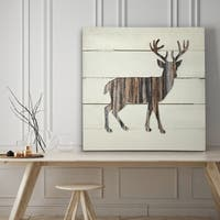 Woodland Deer - Premium Gallery Wrapped Canvas - 4 Sizes Available