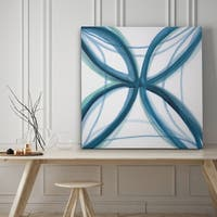 Bold Blue I - Premium Gallery Wrapped Canvas - 4 Sizes Available