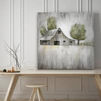 Weathered Barn - Premium Gallery Wrapped Canvas - 4 Sizes Available