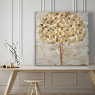 Golden Tree - Premium Gallery Wrapped Canvas - 4 Sizes Available