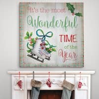 Wonderful Time - Premium Gallery Wrapped Canvas - 4 Sizes Available