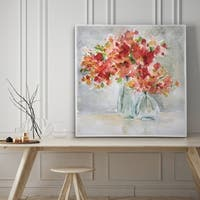 Red Arrangement - Premium Gallery Wrapped Canvas - 4 Sizes Available