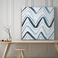Bold Blue II - Premium Gallery Wrapped Canvas - 4 Sizes Available