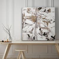 Marble Onyx I - Premium Gallery Wrapped Canvas - 4 Sizes Available